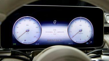 Mercedes-Maybach S 2021: il cruscotto digitale