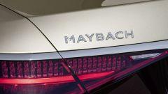 Mercedes-Maybach S 2021: il lettering posteriore