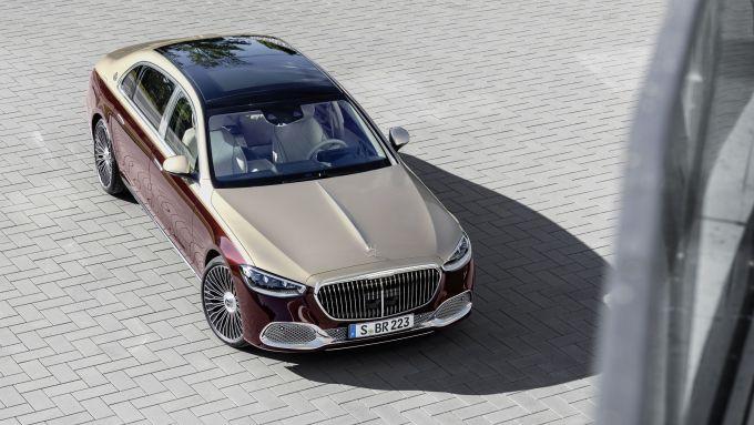 Mercedes-Maybach S 2021: visuale dall'alto