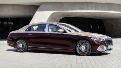 Mercedes-Maybach S 2021: visuale laterale