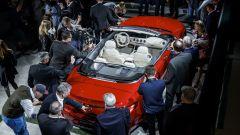 Mercedes-Maybach S 650 Cabriolet esposta al Salone di Los Angeles