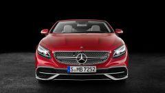 Mercedes-Maybach S 650 Cabriolet: nuovo paraurti anteriore con sezione inferiore aggiornata
