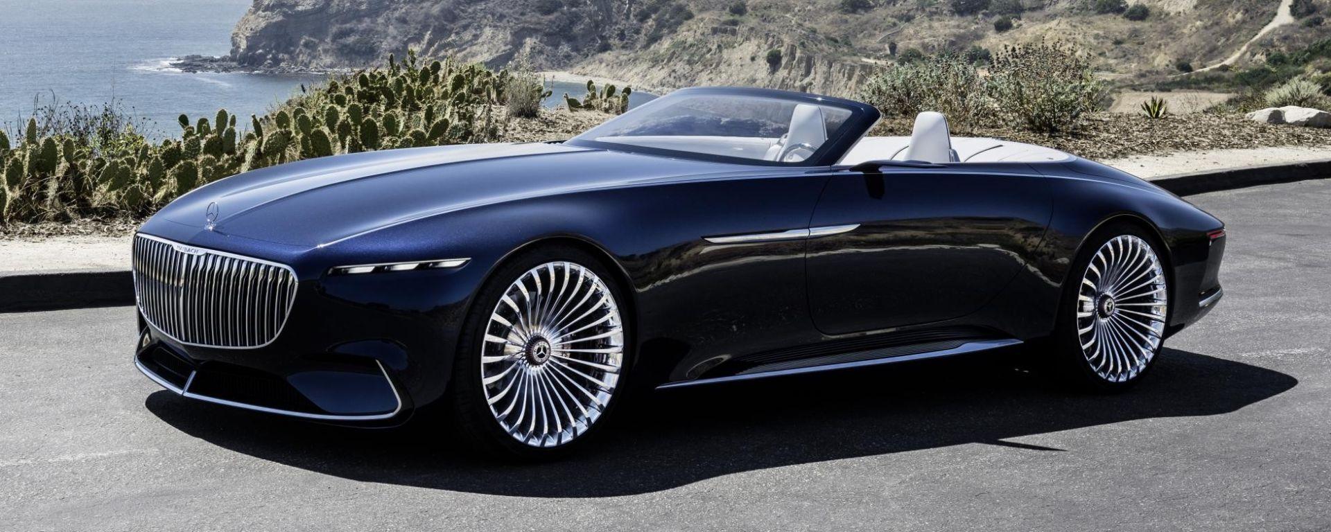 Mercedes-Maybach Vision 6 Cabriolet: concept col vento tra i capelli