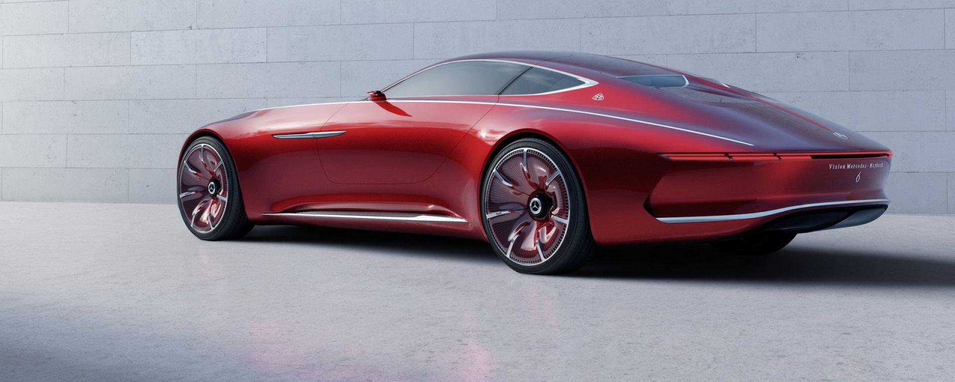Mercedes-Maybach Vision 6: le prime immagini ufficiali