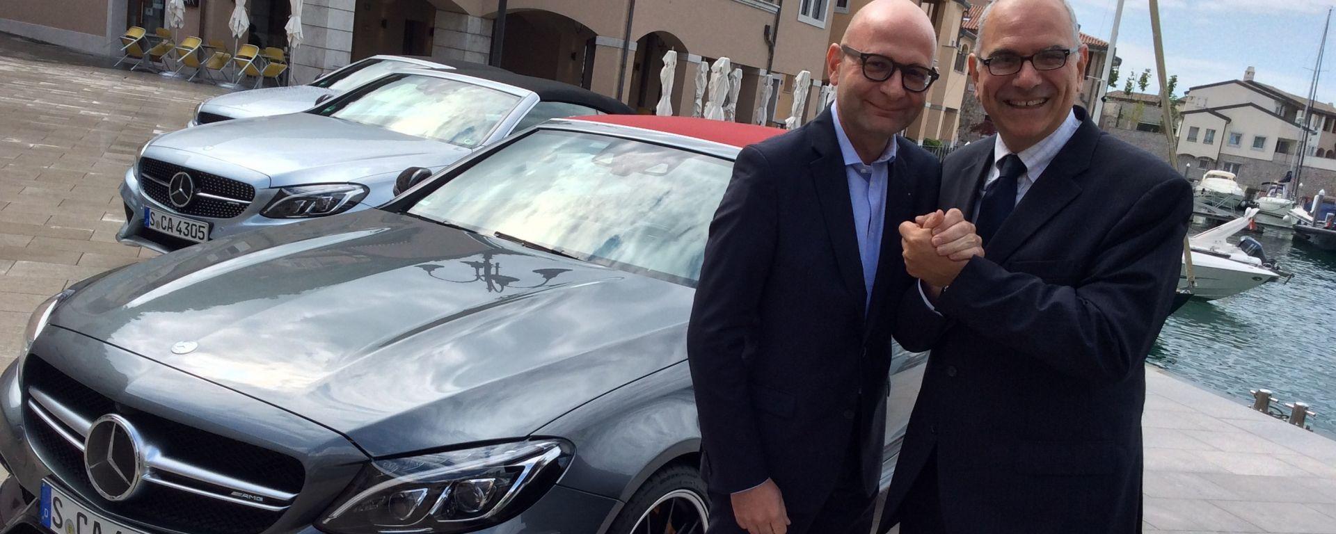 Mercedes: scambio di ruoli tra Lanzoni e Blasetti