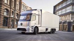 Mercedes Road to the Future: eTruck
