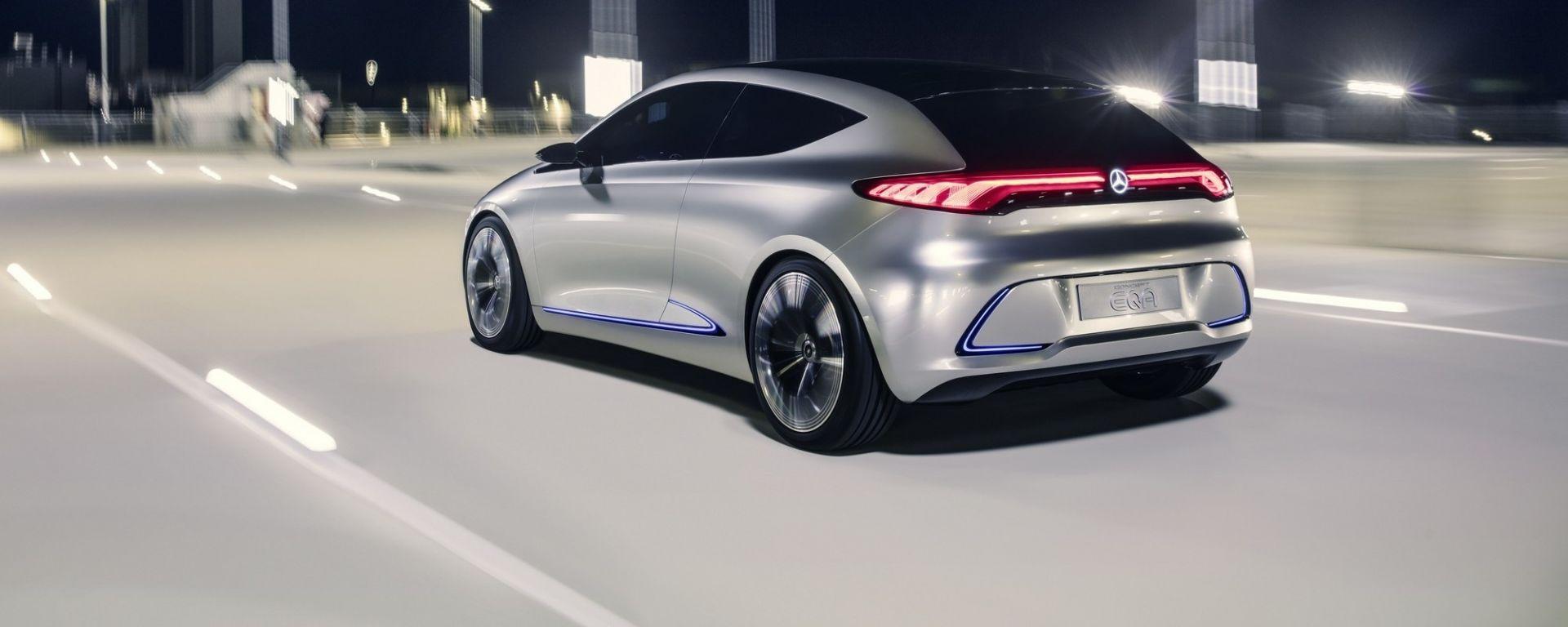 Mercedes Road to the Future: il prototipo EQA