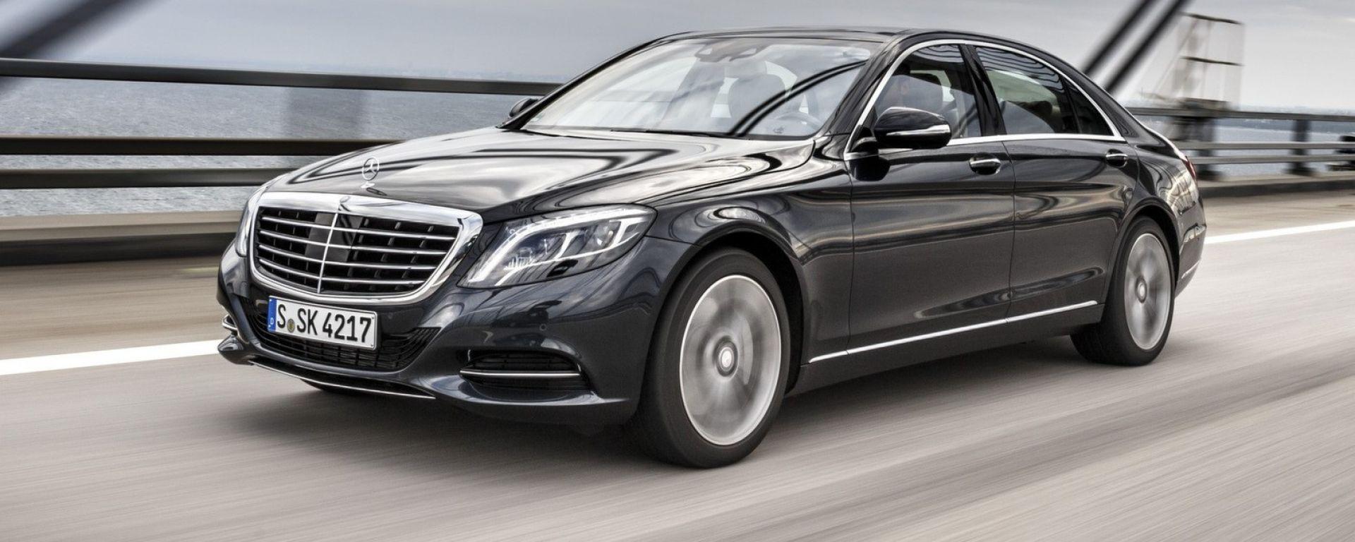 Mercedes S500: sarà la prima auto a benzina ad avere il filtro anti particolato
