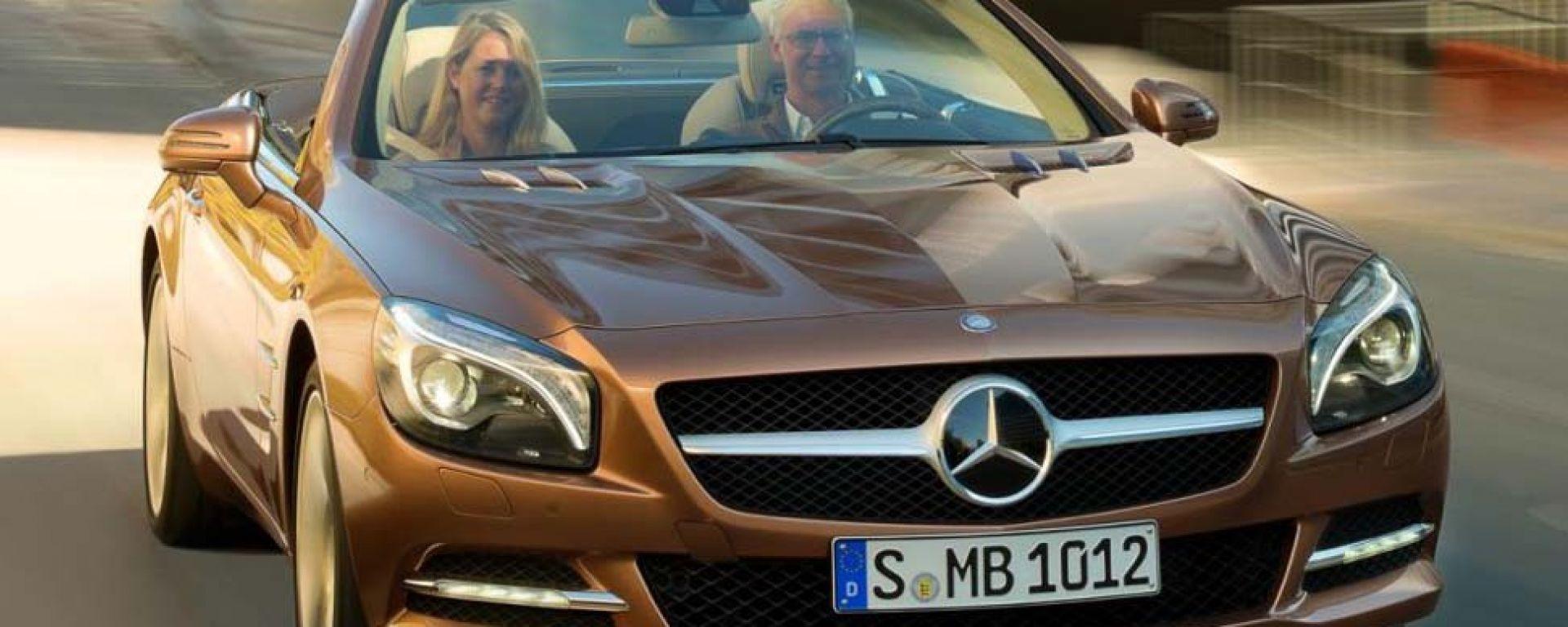 Mercedes SL 2012: le prime immagini ufficiali