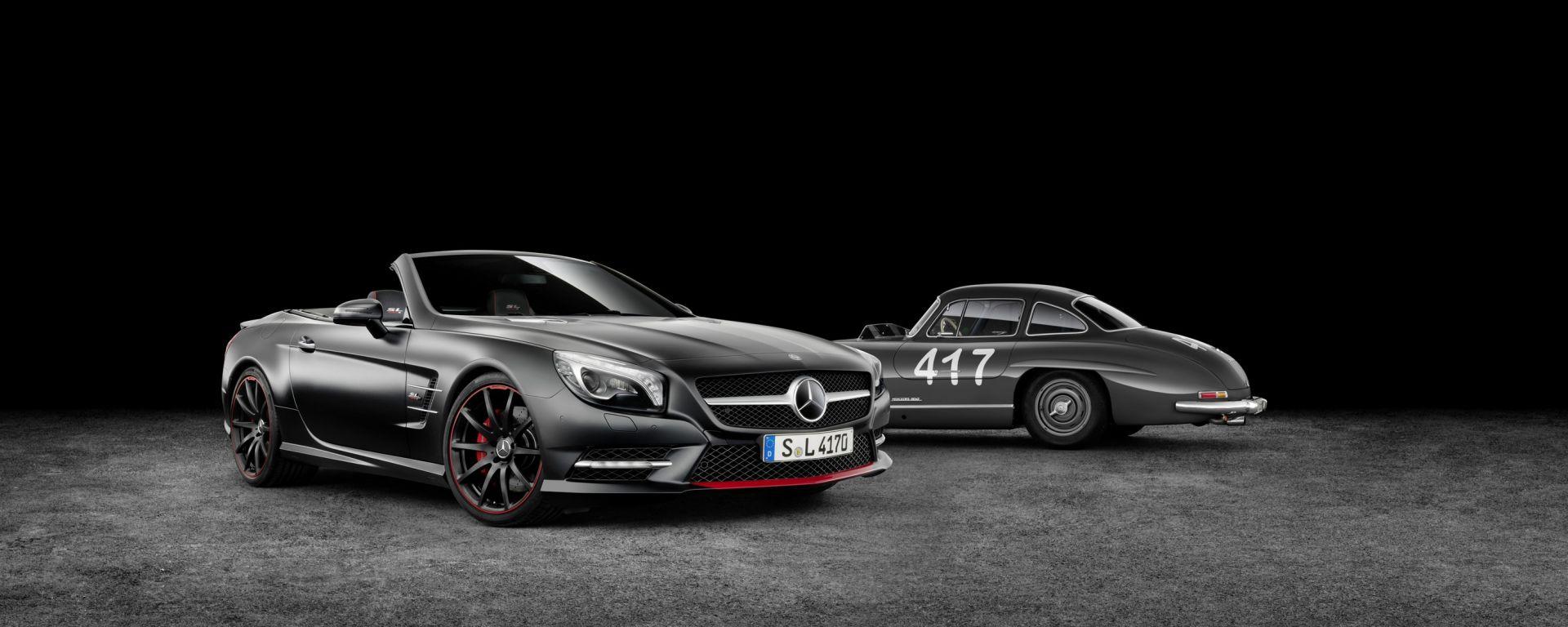 Mercedes SL Special Edition 'Mille Miglia 417'