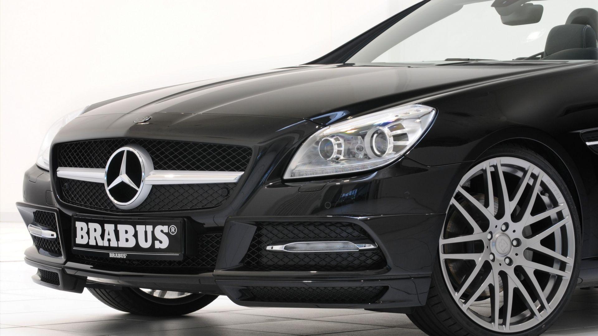 Anteprima Mercedes Slk Brabus Sport Program Motorbox