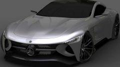Mercedes SLR Vision Concept: un'erede (virtuale) per la SLR McLaren - Immagine: 4