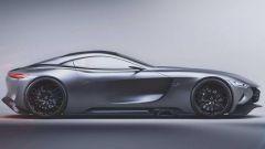 Mercedes SLR Vision Concept: un'erede (virtuale) per la SLR McLaren - Immagine: 6