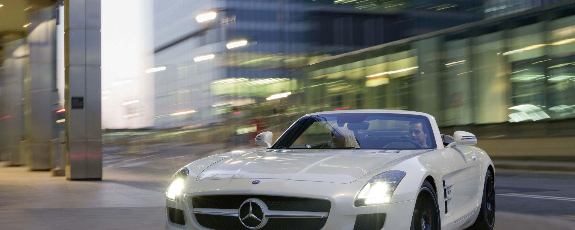 Mercedes SLS AMG Roadster: una nuova gallery in HD