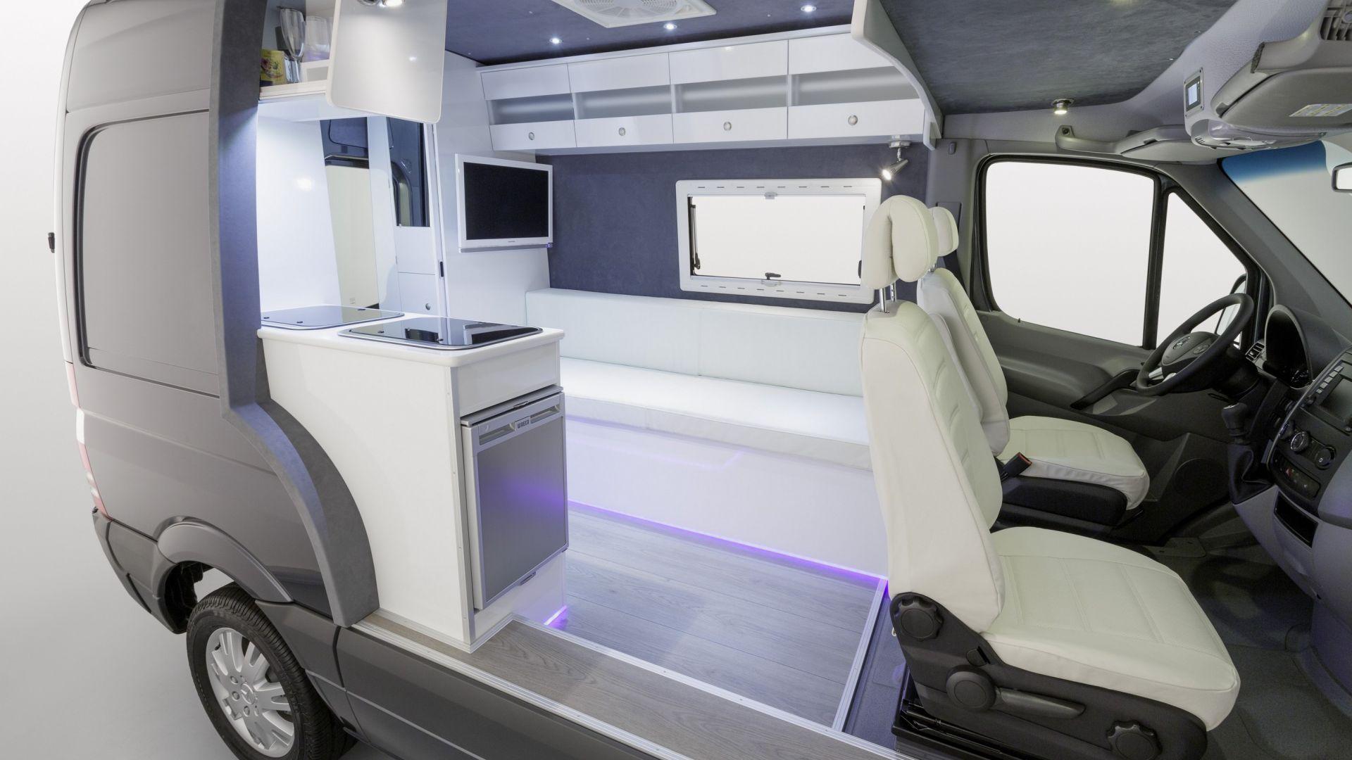 Concept Caravan Mercedes Sprinter Caravan Motorbox