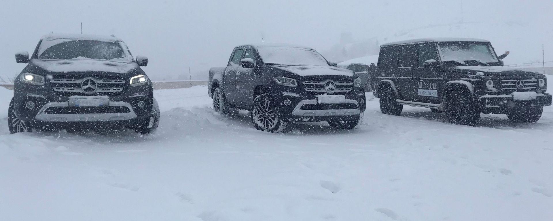 SUV ATTACK: tutta la gamma SUV di Mercedes