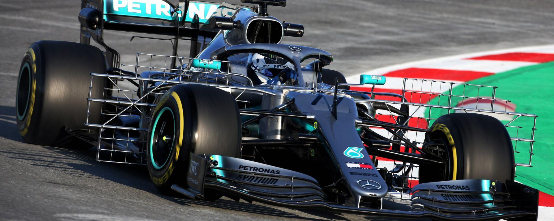 Mercedes svela il motivo dell'esordio sottotono nei test invernali