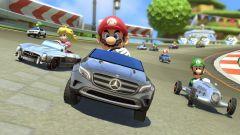 Mercedes: tre modelli per Mario Kart 8 - Immagine: 1