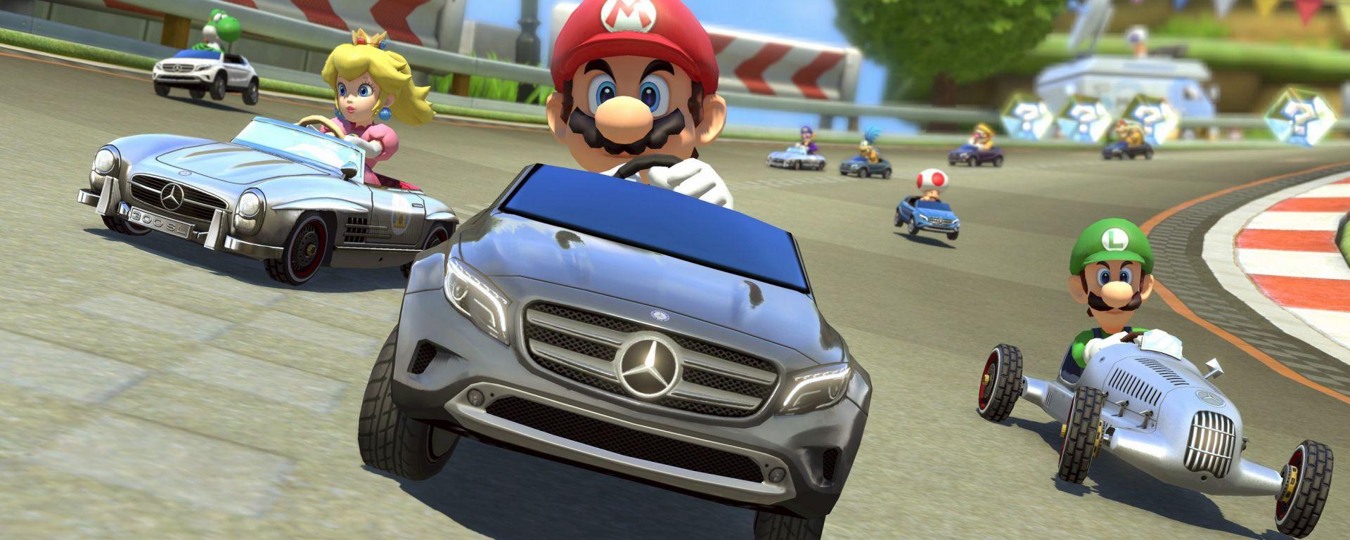 Mercedes: tre modelli per Mario Kart 8