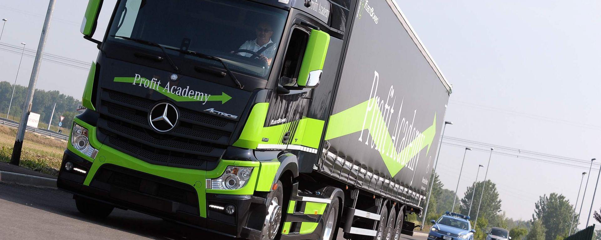 Mercedes Truck: passi avanti verso la sicurezza