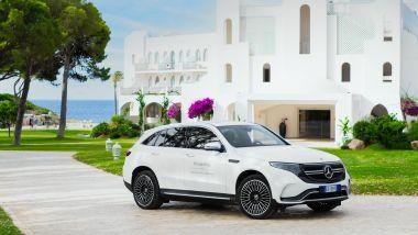 Mercedes verso l'elettrificazione: il primo modello 100% elettrico della Stella, la EQC
