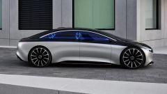 Mercedes Vision EQS, anteprima a Francoforte 2019