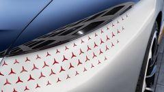 Mercedes Vision EQS, i fari anteriori