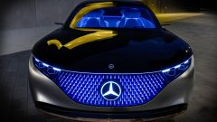 Mercedes Vision EQS, il frontale