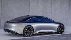 Mercedes Vision EQS, la berlina elettrica secondo la Stella