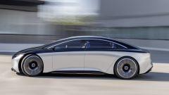 Mercedes Vision EQS, la fiancata