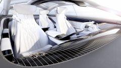 Mercedes Vision EQS, quattro posti ultra lusso