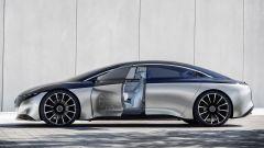 Mercedes Vision EQS, vista laterale