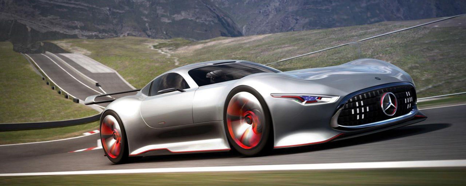 Mercedes AMG Vision Gran Turismo Racing Series