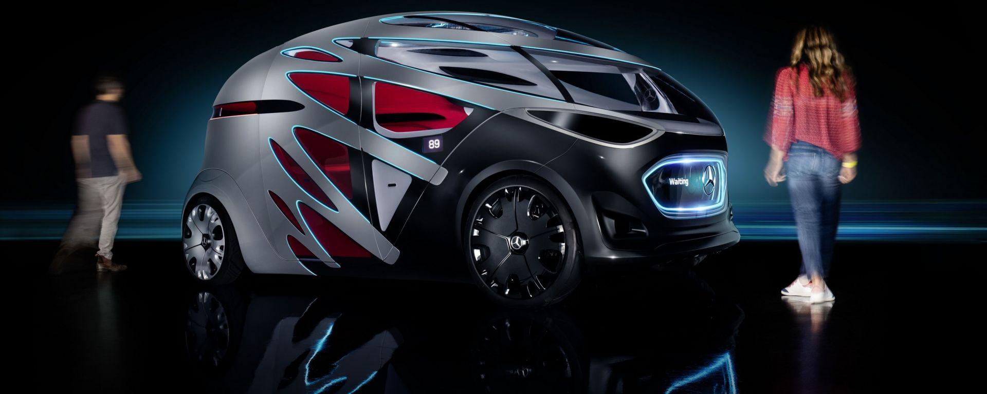 Mercedes Vision Urbanetic: carrozzeria intercambiabile e autopilota