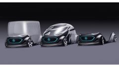 Mercedes Vision Urbanetic: carrozzeria intercambiabile e autopilota - Immagine: 12