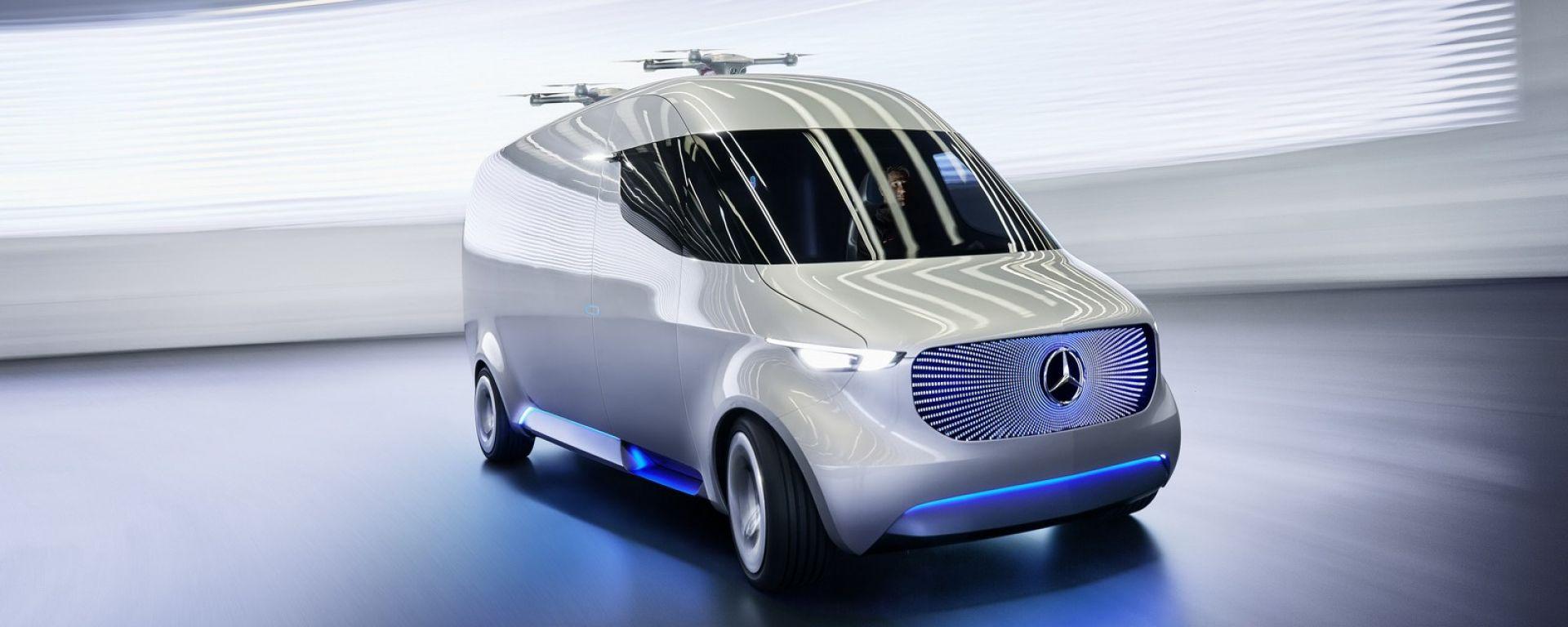 Mercedes Vision Van Concept. Guarda il video