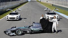 Mercedes W04 - Immagine: 3