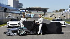 Mercedes W04 - Immagine: 2