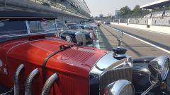 Mercedes W06 Tips 1928 al rally regolarità Passione Caracciola - Autodromo Monza