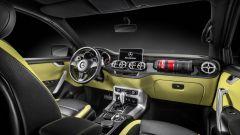 Mercedes X-Class: schermo touch, gruppo di comandi centrale con controller e touchpad multifunzione