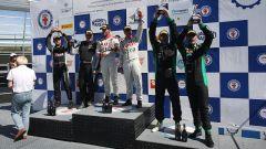Merendino e  Di Benedetto, la vittoria nella classe GT3 sulla Audi R8 LMS ultra