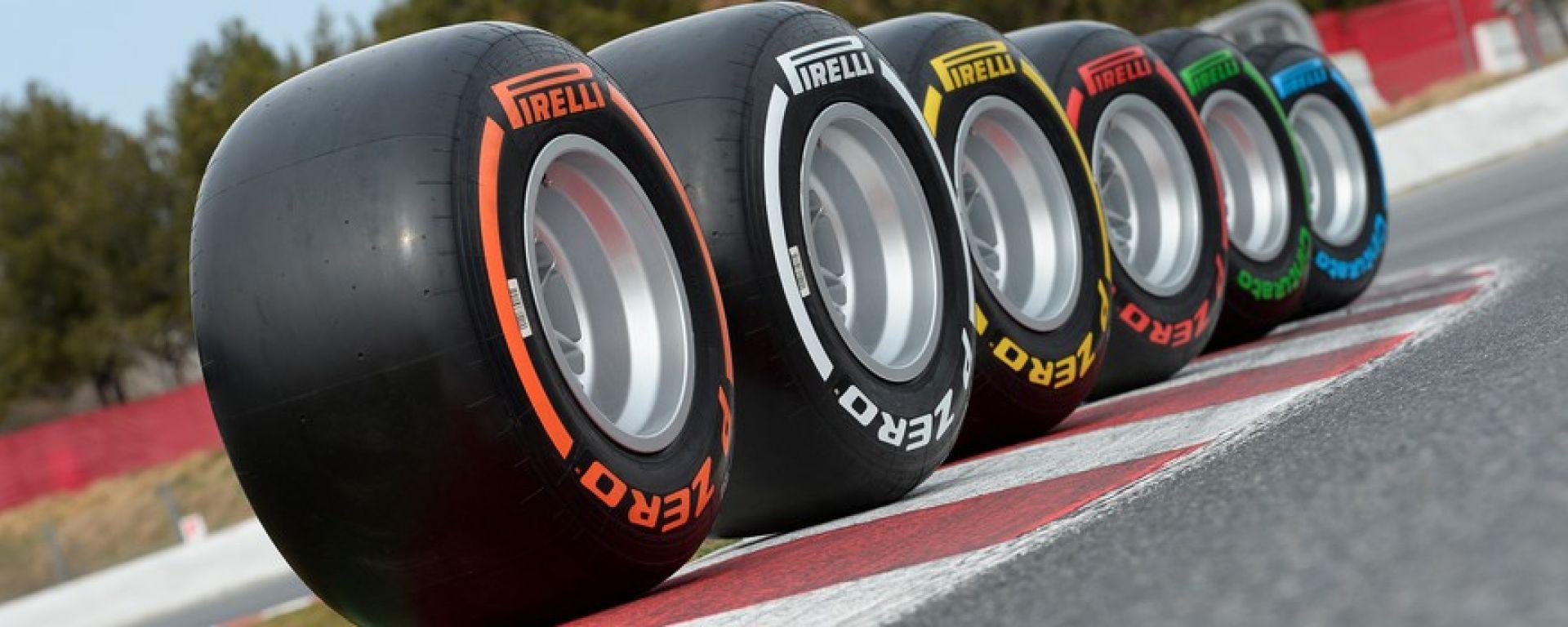 Mescole P Zero Pirelli F1
