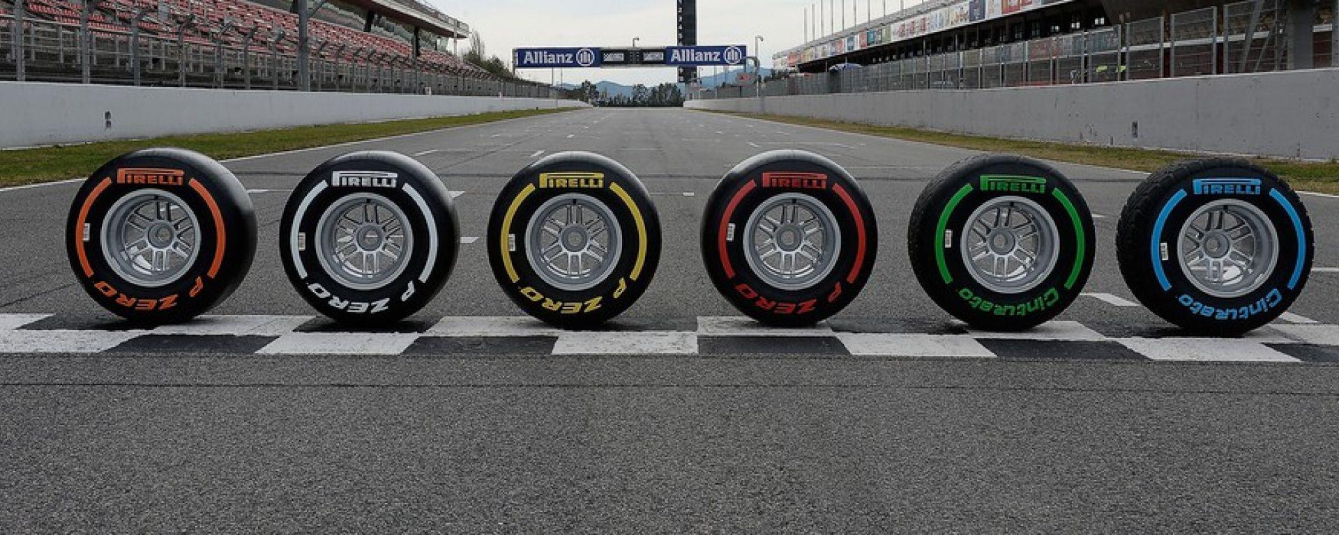 Mescole Pirelli 2016 Canada