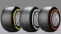 Mescole Pirelli Soft, Medium e Hard - F1 GP Malaysia