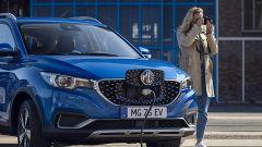 MG a MIMO 2021: lo sportello di ricarica dell'elettrica ZS EV