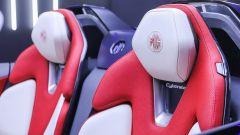 MG Cyberster: dettaglio dei sedili