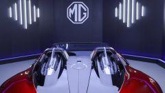 MG Cyberster: dettaglio posteriore