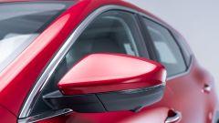 MG Motor, il SUV plug-in EHS: particolare degli specchietti