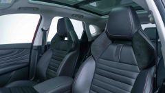 MG Motor, il SUV plug-in EHS: particolare dei sedili