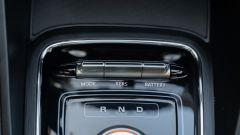 MG ZS EV: i comandi per le modalità di guida e la frenata rigenerativa